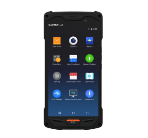SunMi-L2 мобилен android терминал с 2D скенер Zebra