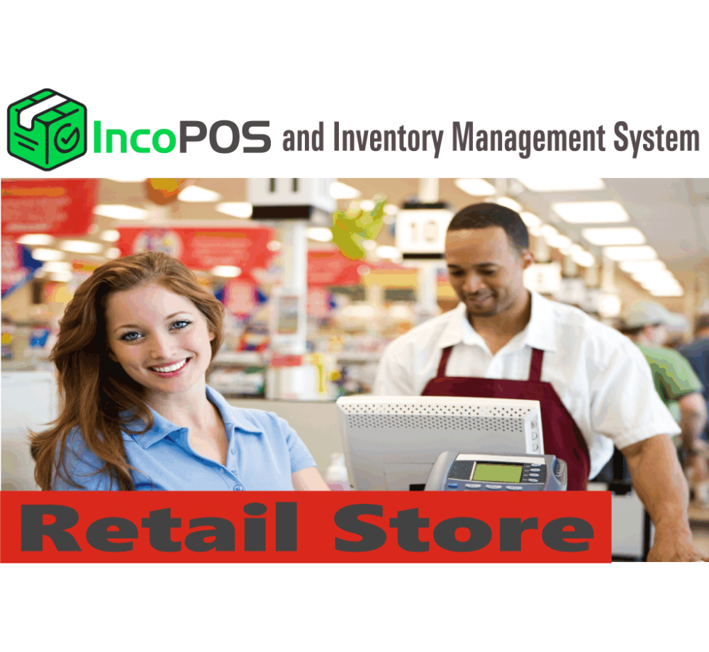 IncoPOS and inventory management software for Retail Store